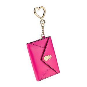 Victoria's Secret Pineapple Card Case Keychain